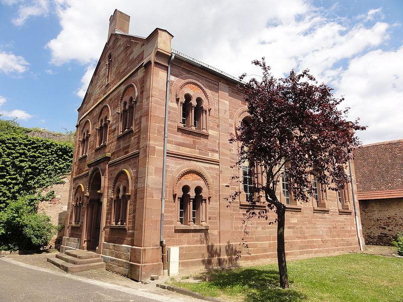 Photo du Monument Historique Synagogue situé à Westhoffen