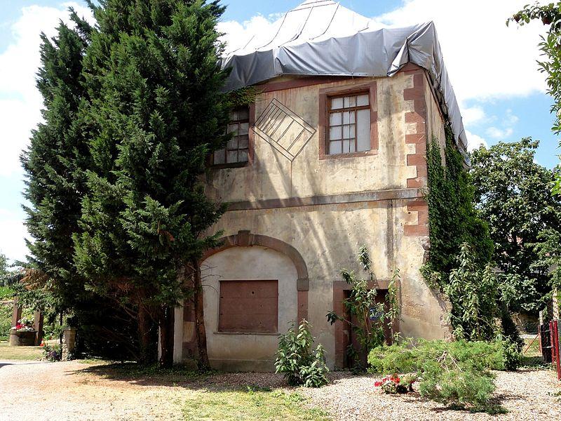 Photo du Monument Historique Château du Geisberg situé à Wissembourg