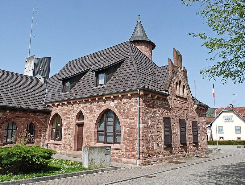 Photo du Monument Historique Ancienne usine d'électricité situé à Niederbronn-les-Bains