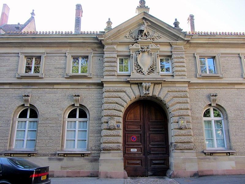 Photo du Monument Historique Ancien Palais impérial allemand ou Kaiserpalatz, dit Palais du Rhin : écuries situé à Strasbourg