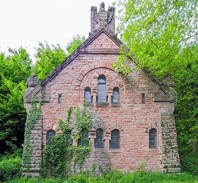 Photo du Monument Historique Station de pompage du château du Haut-Koenigsbourg situé à Orschwiller