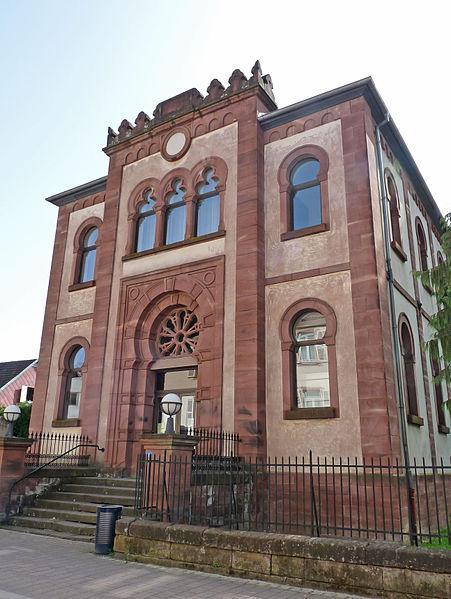 Photo du Monument Historique Synagogue situé à Niederbronn-les-Bains