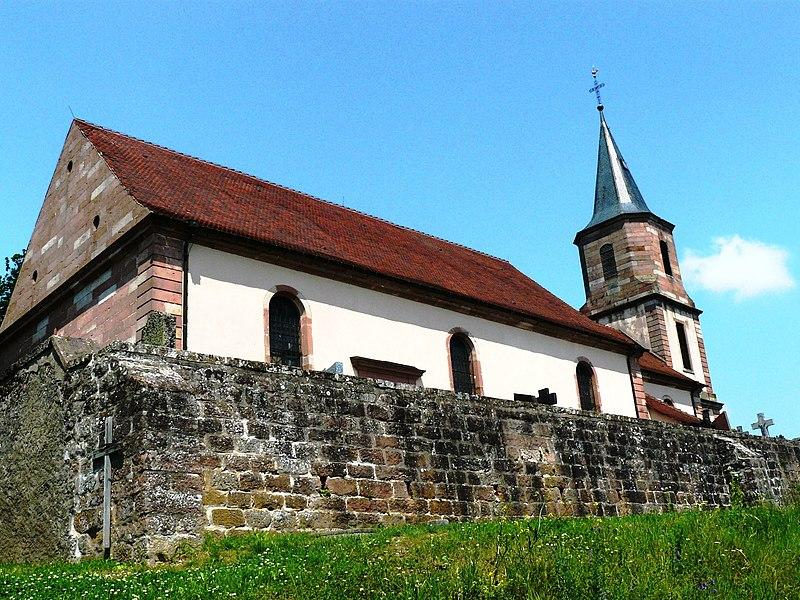 Photo du Monument Historique Eglise Saint-Gilles situé à Saint-Pierre-Bois