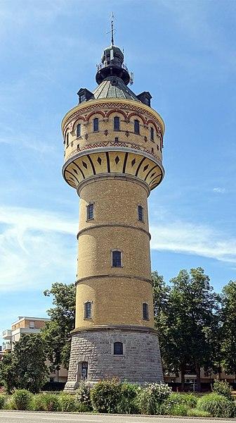 Photo du Monument Historique Château d'eau situé à Sélestat