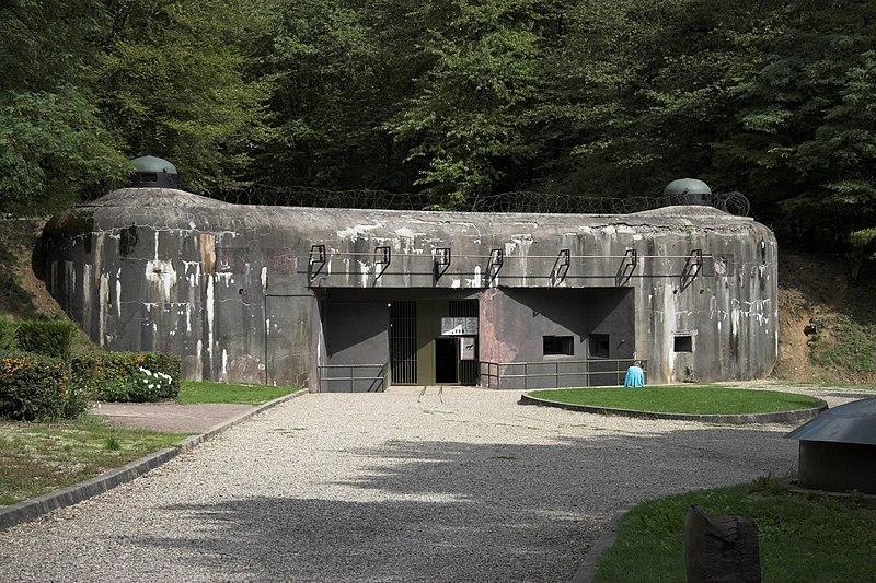 Photo du Monument Historique Fort de Schoenenbourg (ligne Maginot) (également sur commune de Hunspach) situé à Hunspach ; Ingolsheim