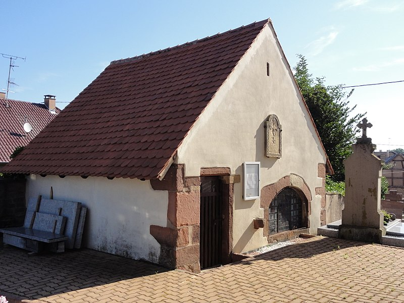 Photo du Monument Historique Ossuaire situé à Lupstein
