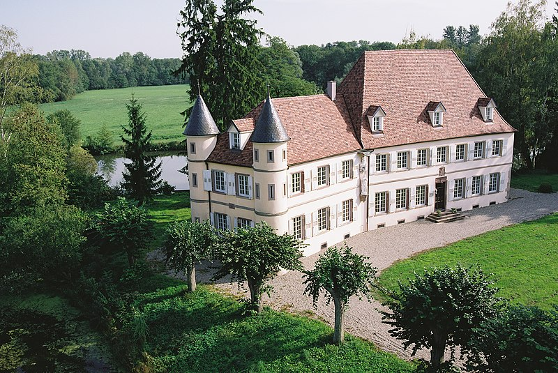 Photo du Monument Historique Domaine de Werde situé à Matzenheim
