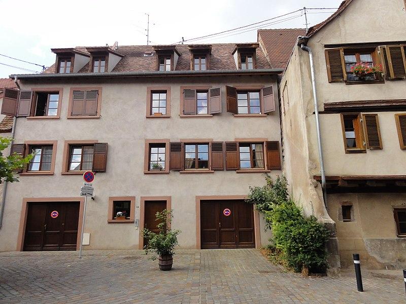 Photo du Monument Historique Immeubles situé à Obernai
