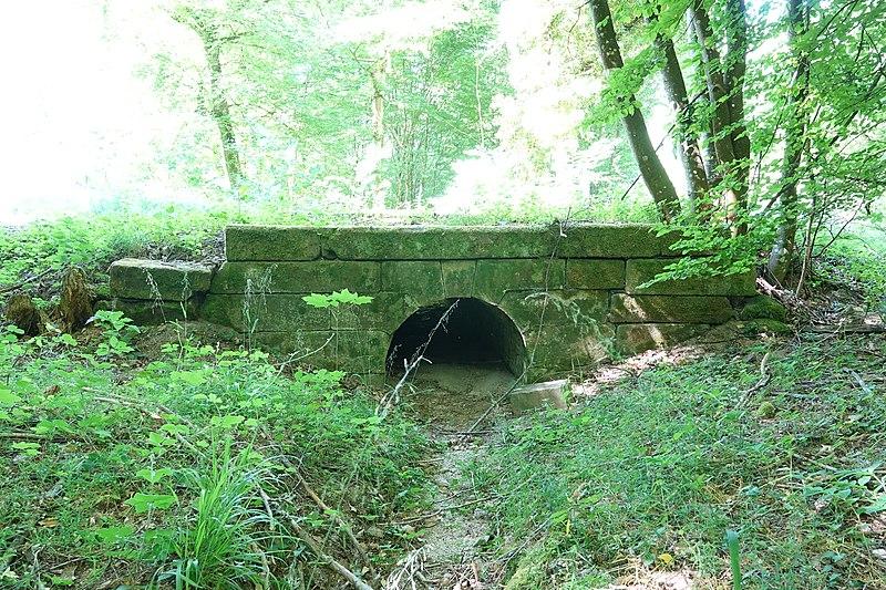 Photo du Monument Historique Pont numéro 1 situé à Scherwiller
