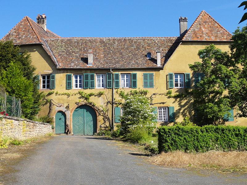 Photo du Monument Historique Ancienne maison du Commandeur de l'Ordre teutonique situé à Boersch