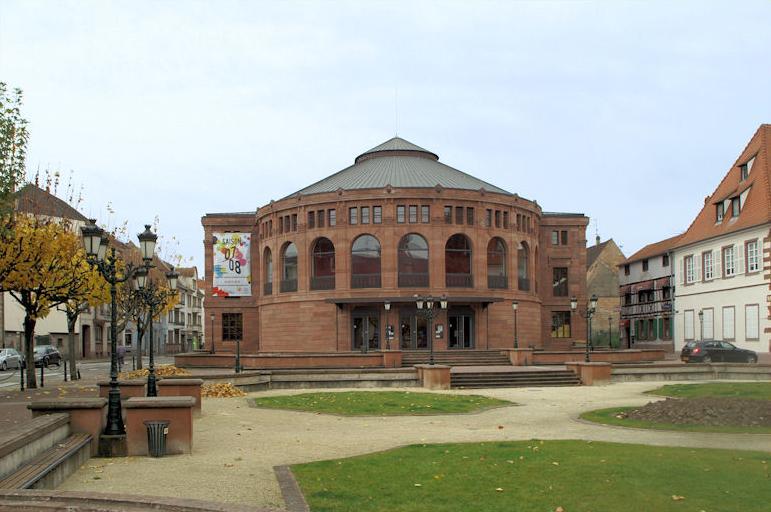 Photo du Monument Historique Théatre municipal situé à Haguenau