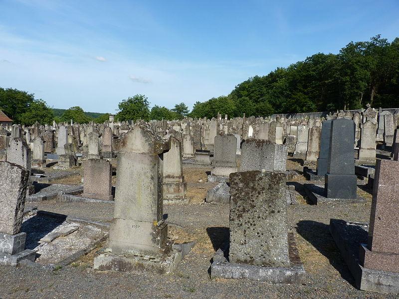 Photo du Monument Historique Cimetière juif situé à Rosenwiller