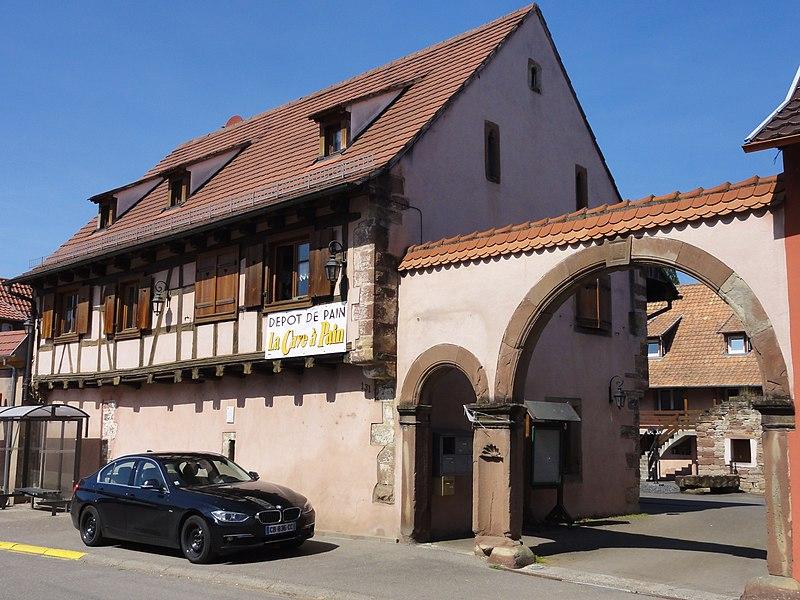 Photo du Monument Historique Maison situé à Schwenheim