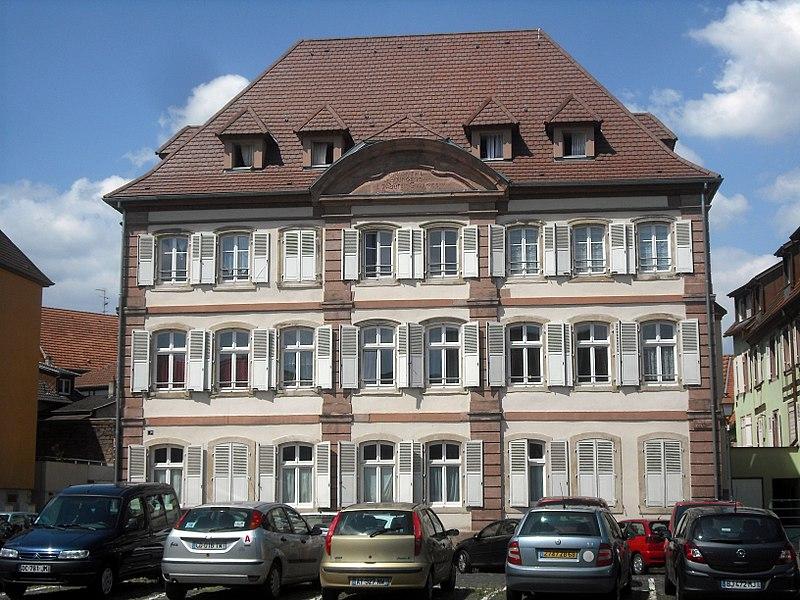 Photo du Monument Historique Ancien hôpital bourgeois situé à Sélestat