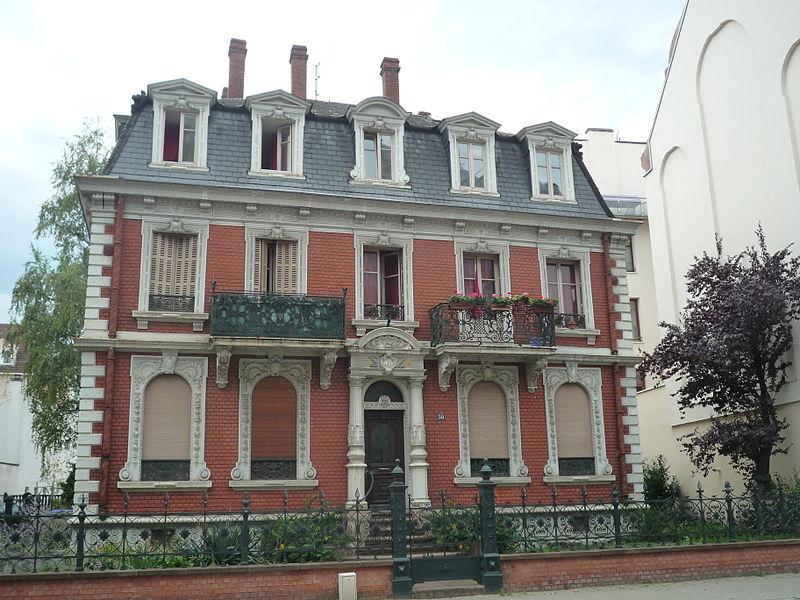 Photo du Monument Historique Maison Bowe situé à Strasbourg