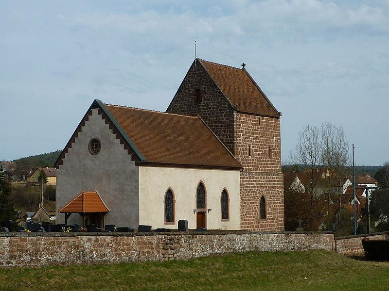 Photo du Monument Historique Eglise protestante situé à Wimmenau