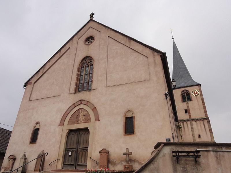 Photo du Monument Historique Eglise catholique Saint-Maurice situé à Soultz-les-Bains