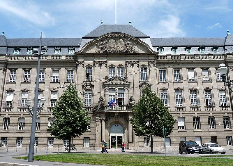 Photo du Monument Historique Ancien bâtiment ministériel (est) , Préfecture du Bas-Rhin situé à Strasbourg