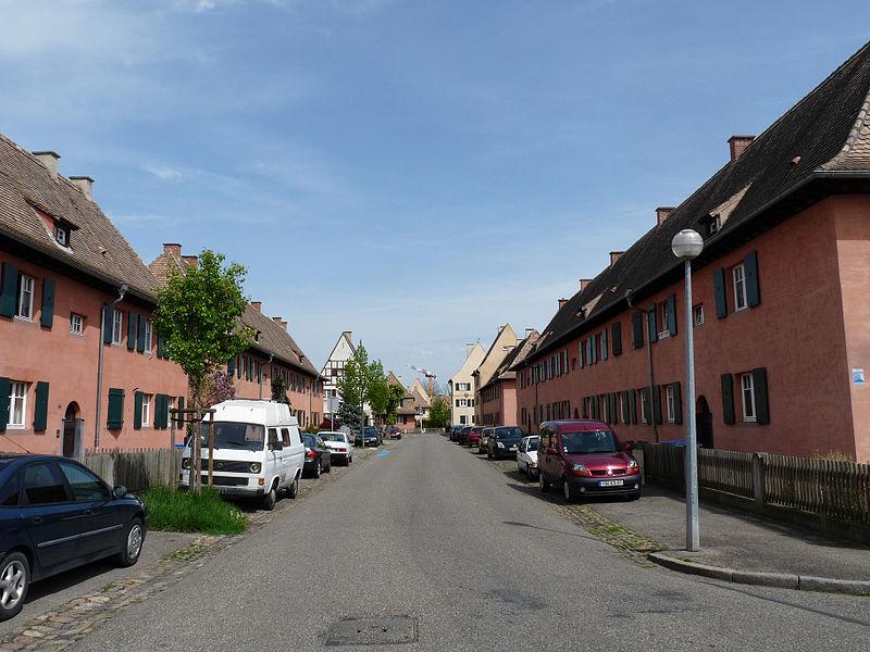 Photo du Monument Historique Faubourg-jardin du Stockfeld situé à Strasbourg