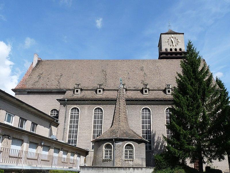 Photo du Monument Historique Eglise protestante Saint-Paul de Koenigshoffen situé à Strasbourg