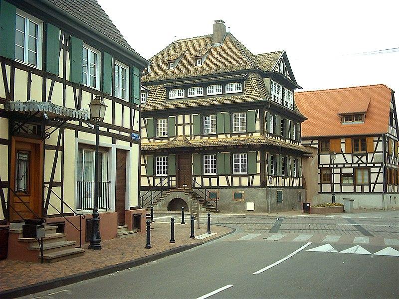 Photo du Monument Historique Ancienne maison de tanneur situé à Erstein