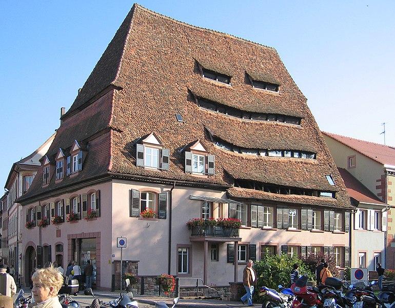 Photo du Monument Historique Ancien hôpital dit Maison du sel situé à Wissembourg