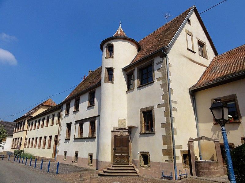 Photo du Monument Historique Ancien hôtel de Wangen situé à Marmoutier