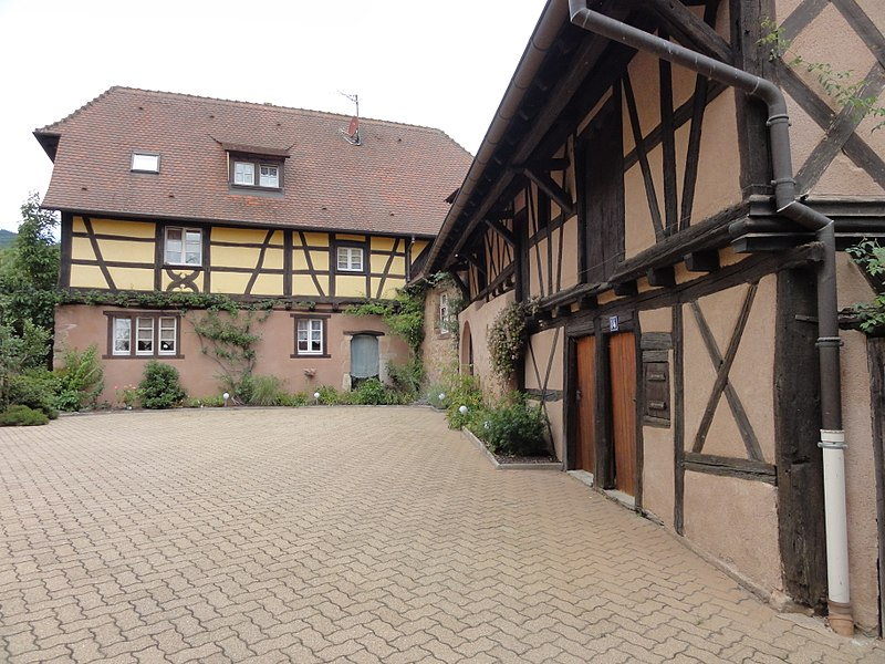 Photo du Monument Historique Maisons anciennes situé à Dambach-la-Ville