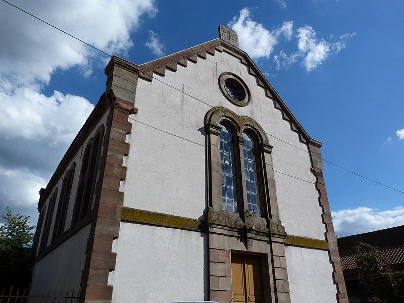 Photo du Monument Historique Synagogue situé à Diemeringen