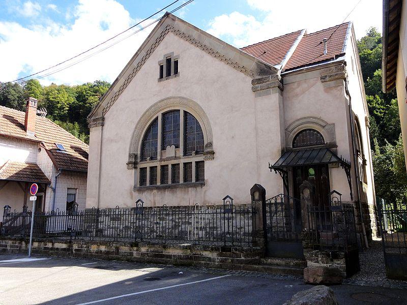 Photo du Monument Historique Synagogue situé à Schirmeck
