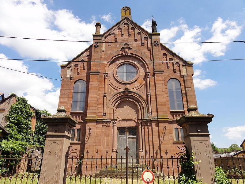 Photo du Monument Historique Synagogue situé à Balbronn