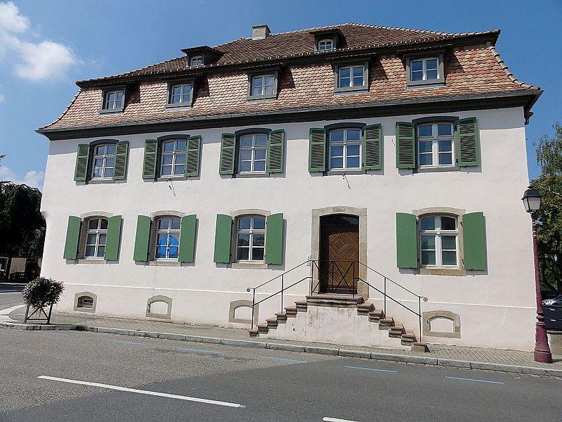 Photo du Monument Historique Ancienne auberge Au Soleil d'Or situé à Fegersheim