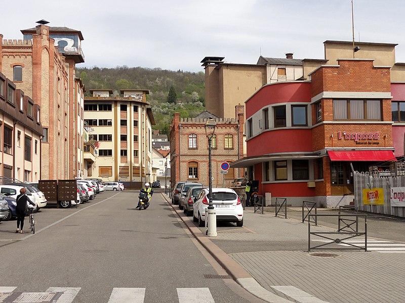 Photo du Monument Historique Ancienne brasserie de Mutzig situé à Mutzig