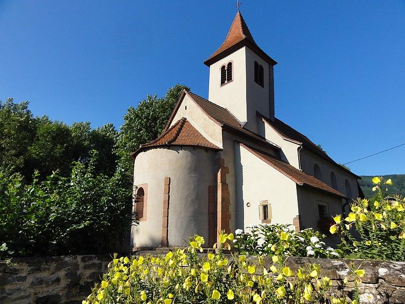 Photo du Monument Historique Chapelle Saint-Nicolas situé à Ottrott