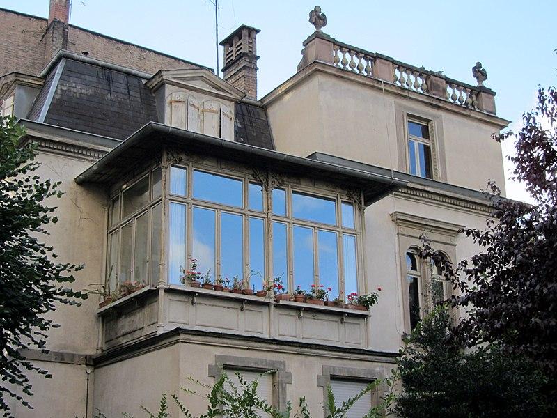 Photo du Monument Historique Villa situé à Strasbourg