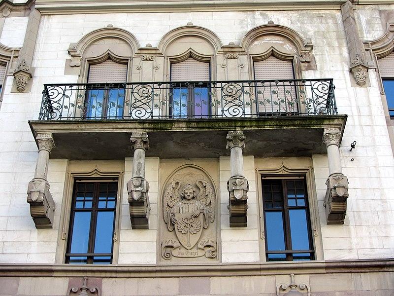 Photo du Monument Historique Ancienne maison du négociant Rubin dite maison A l'Ange situé à Strasbourg
