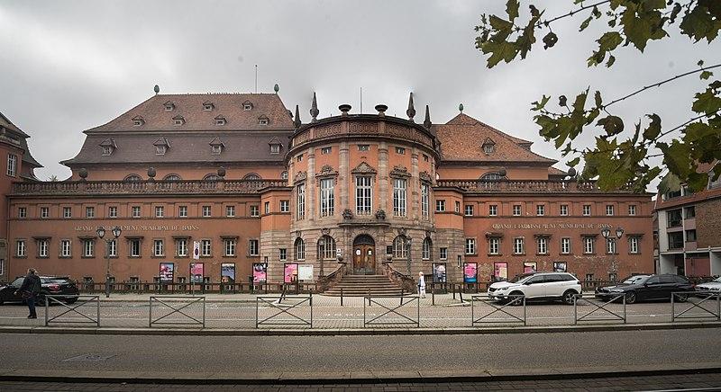 Photo du Monument Historique Bains municipaux situé à Strasbourg