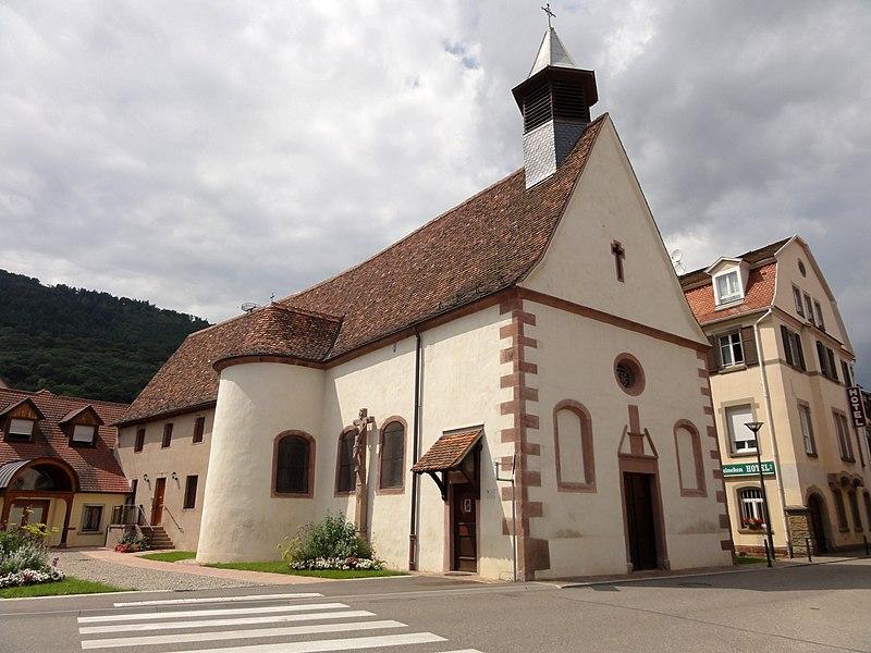 Photo du Monument Historique Chapelle Sainte-Croix situé à Châtenois