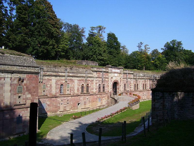 Photo du Monument Historique Fort Rapp, anciennement fort Moltke situé à Reichstett