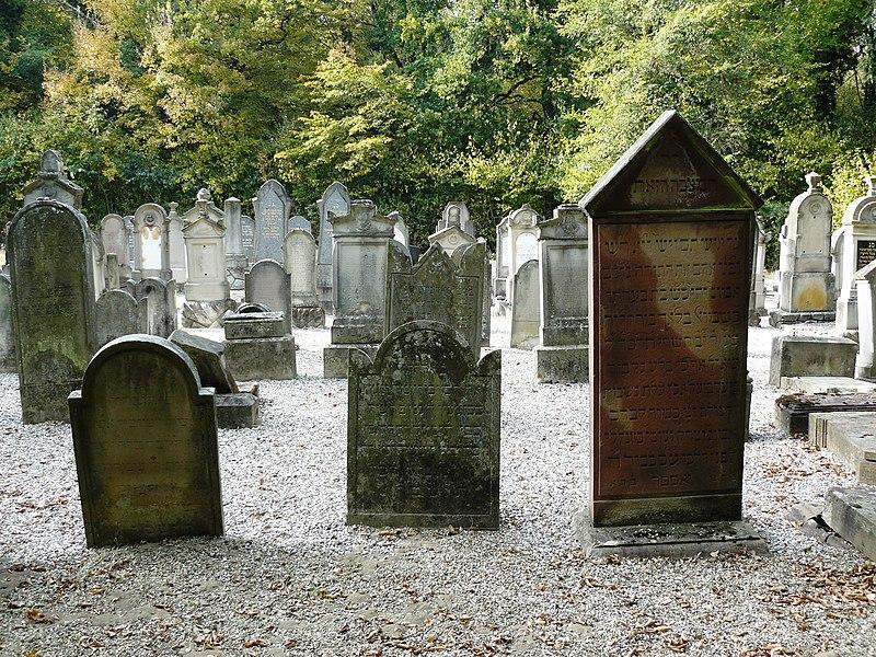 Photo du Monument Historique Cimetière juif situé à Mackenheim