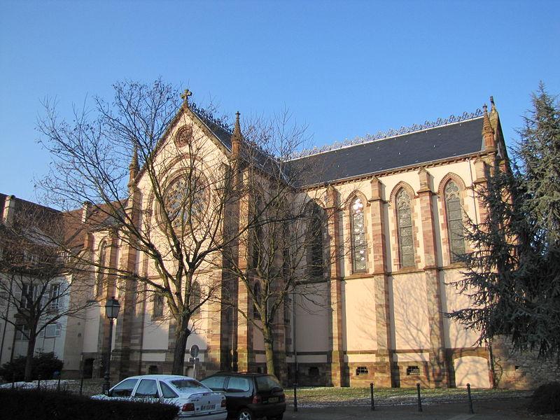 Photo du Monument Historique Ancien couvent d'Augustines Notre-Dame situé à Molsheim