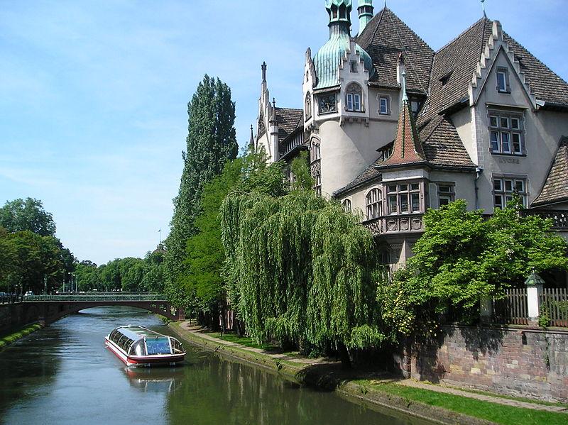 Photo du Monument Historique Lycée international des Pontonniers situé à Strasbourg