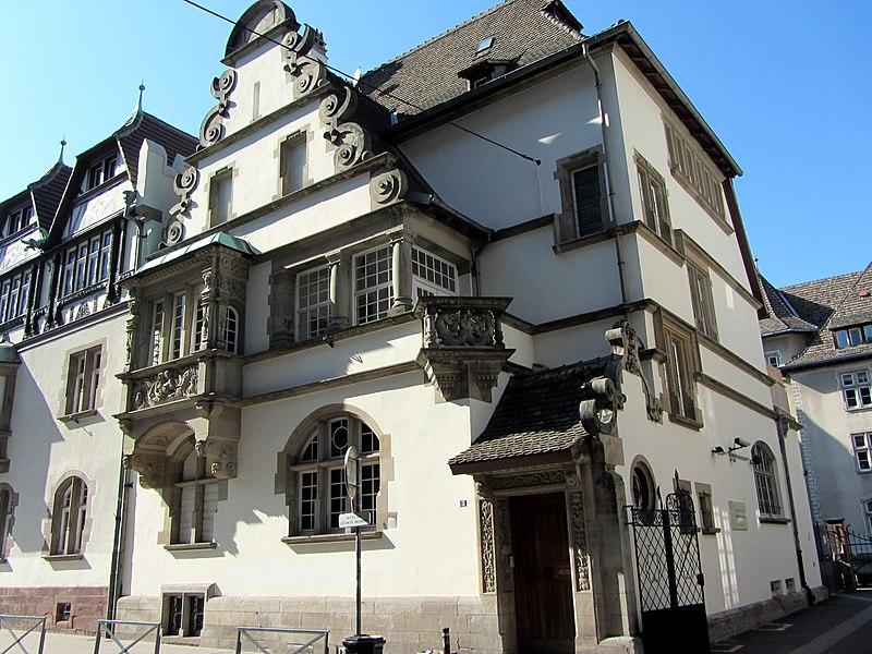 Photo du Monument Historique Maison du sculpteur Alfred Marzolff situé à Strasbourg
