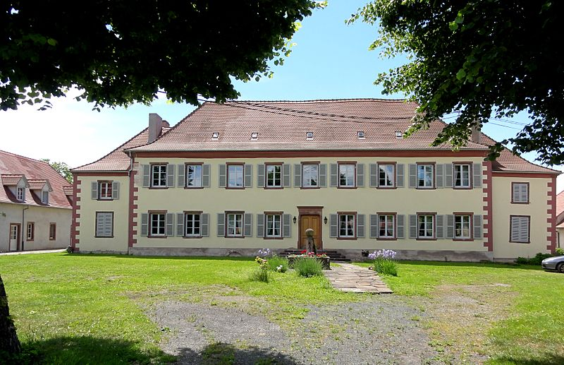 Photo du Monument Historique Manoir de Wangen situé à Wilwisheim