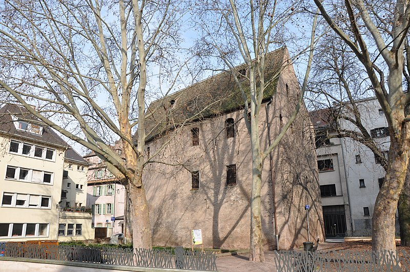 Photo du Monument Historique Grenier situé à Strasbourg