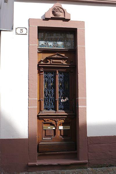 Photo du Monument Historique Maison des Anneaux situé à Haguenau