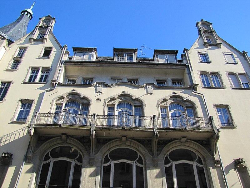 Photo du Monument Historique Palais des Fêtes situé à Strasbourg