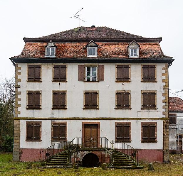 Photo du Monument Historique Ferme-château Le Bel situé à Lampertsloch
