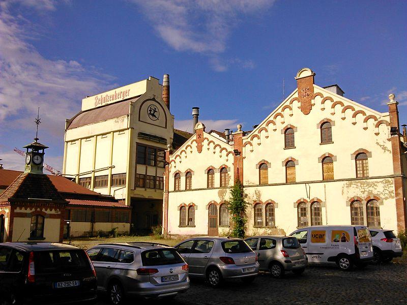 Photo du Monument Historique Ancienne grande brasserie de la Patrie Schutzenberger situé à Schiltigheim