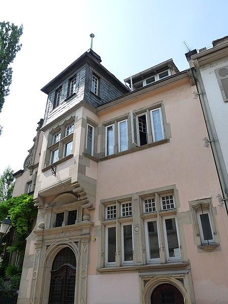 Photo du Monument Historique Immeuble dit ancienne Pfälzerhaus situé à Strasbourg